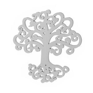 Drzewo zawieszka, ze srebra 925, LKM-2090 - 0,50