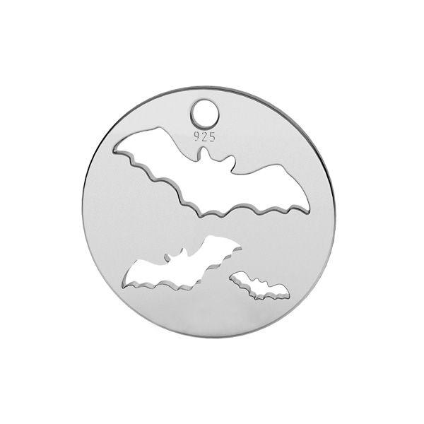 Nietoperz zawieszka, srebro próby 925, LK-1561 - 0,50