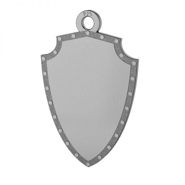 Tarcza zawieszka, srebro próby 925, LKM-2131