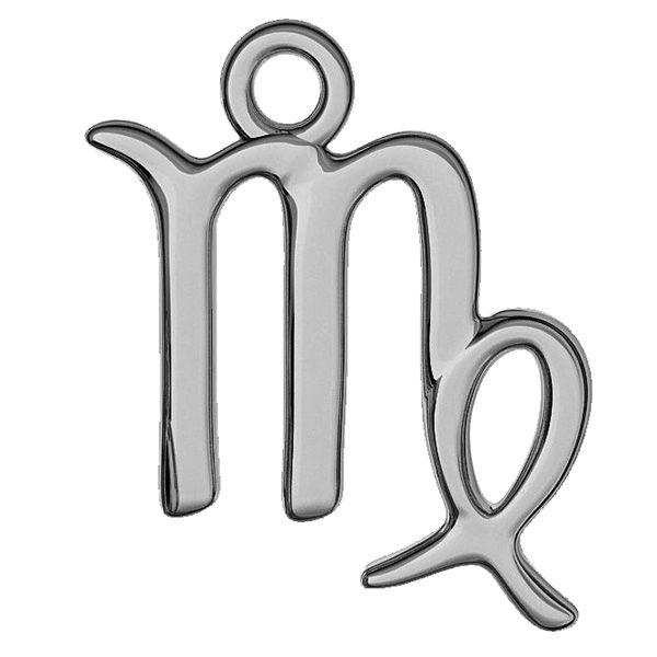 Znak zodiaku Panna zawieszka, srebro próby 925, ODL-00537