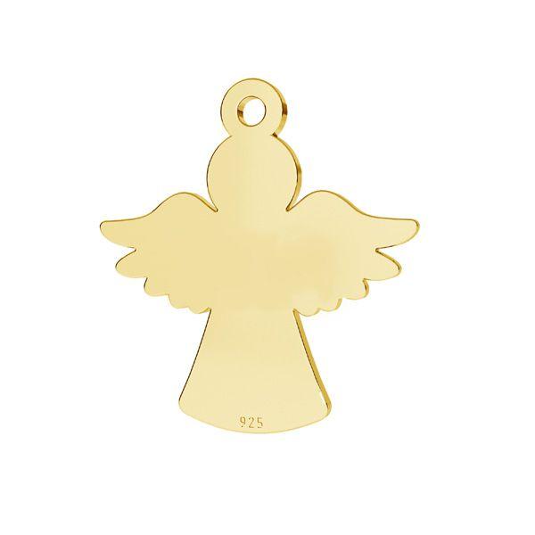 Zawieszka - anioł*srebro AG 925*LKM-2243 - 0,50 13x15,2 mm