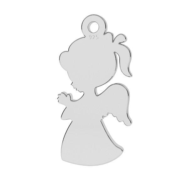 Zawieszka - dziewczynka*srebro AG 925*LK-1283 - 0,50 8,6x18,7 mm