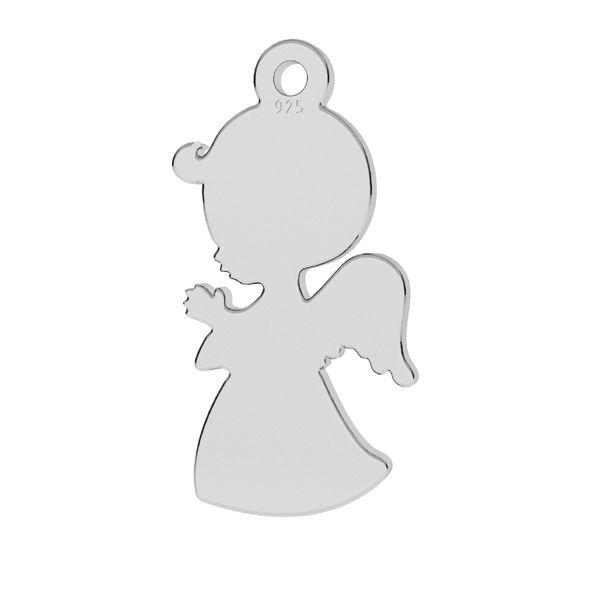 Zawieszka - anioł chłopiec*srebro AG 925*LKM-2248 - 0,50 9x17 mm