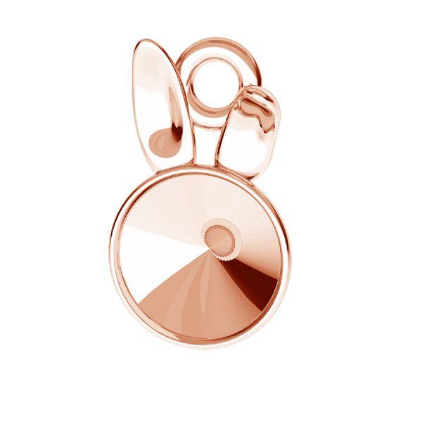 Zawieszka - królik - baza do Rivoli*srebro AG 925*ODL-00584 0x0 mm (1122 SS 29)