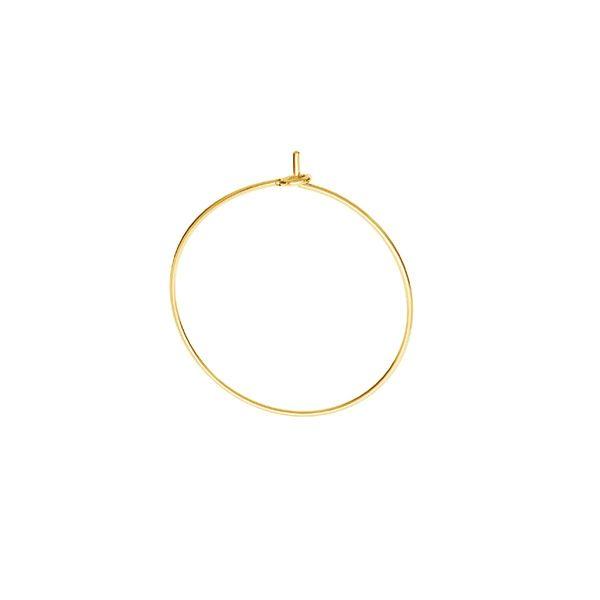 Bigiel zamknięty - okrągły*srebro AG 925*BZ 13 0,8x21,6 mm