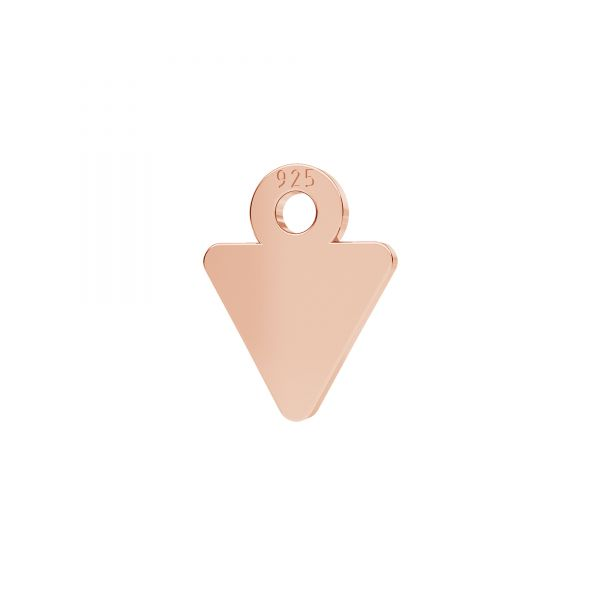 Mini zawieszka - trójkąt*srebro AG 925*LKM-2338 - 0,50 7x9 mm