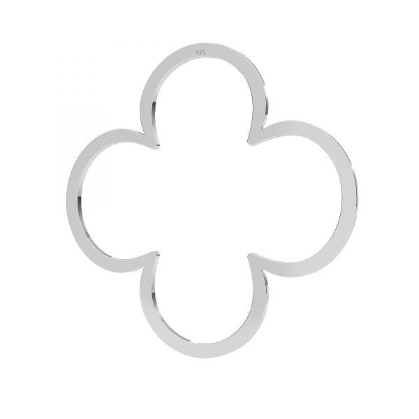 Zawieszka - koniczynka*srebro AG 925*LKM-2290 - 0,50 35x35 mm