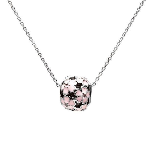 Przekładka ozdobna - kwiatek z kryształem*srebro AG 925*BDS-00001 00x8,3 mm
