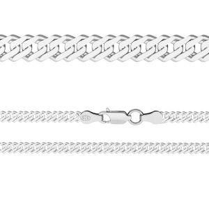 Łańcuszek typu Rombo z zamkiem*srebro AG 925*RD 60 (38 cm)