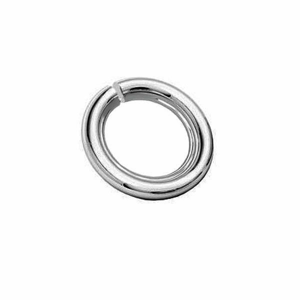Kółko cięte*srebro AG 925*KC 2,5x11 mm