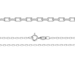 Łańcuszek typu Ankier z zamkiem*srebro AG 925*AD 50 38-90 cm