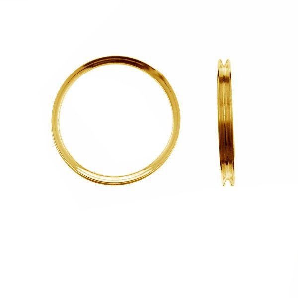 Obrączka do Apoxie - baza*srebro AG 925*RING 012 - 1,50 3x16,5 mm