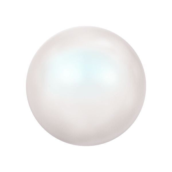 5818 MM 4,0 CRYSTAL PEARLESCENT WHITE