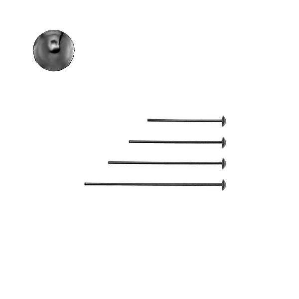 Szpilka z czapką - typu gwóźdź*srebro AG 925*SZPA 2 20-35 mm