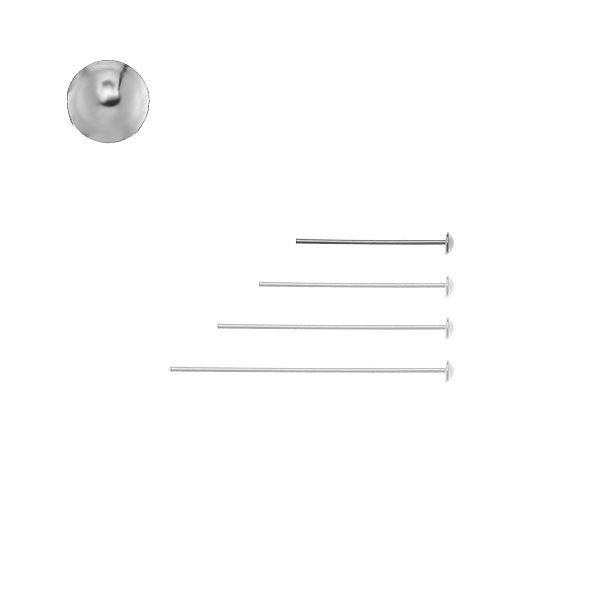 Szpilka z czapką - typu gwóźdź*srebro AG 925*SZPA 2 20 mm