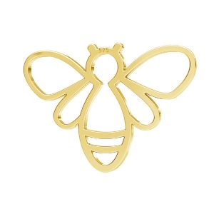 Zawieszka - pszczoła*srebro AG 925*LKM-2358 - 0,50 15x20,8 mm