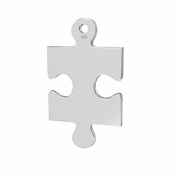 Zawieszka łącznik - puzzel*srebro AG 925*LKM-2420 - 0,50 14x24 mm