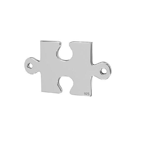 Zawieszka łącznik - puzzel*srebro AG 925*LKM-2421 - 0,50 11,1x19 mm