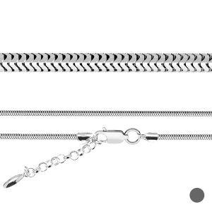 Łańcuszek z przedłużką - baza do koralików typu BEADS*srebro AG 925*CST 3,0 (45 cm)