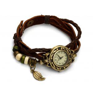 Brązowy zegarek sznurkowy, MODEL 362