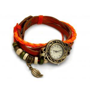 Pomarańczowy zegarek sznurkowy, MODEL 362