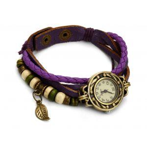 Purpurowy zegarek sznurkowy, MODEL 362