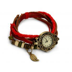 Czerwony zegarek sznurkowy, MODEL 362