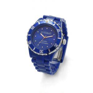 Niebieski zegarek z kryształami Swarovskiego, MODEL 646