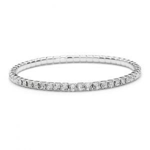 Elastyczna bransoletka z kryształami Swarovskiego, MODEL 285