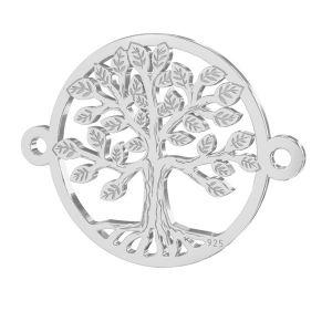 Zawieszka łącznik - drzewo życia*srebro AG 925*LKM-2514 - 0,50 15x19,6 mm