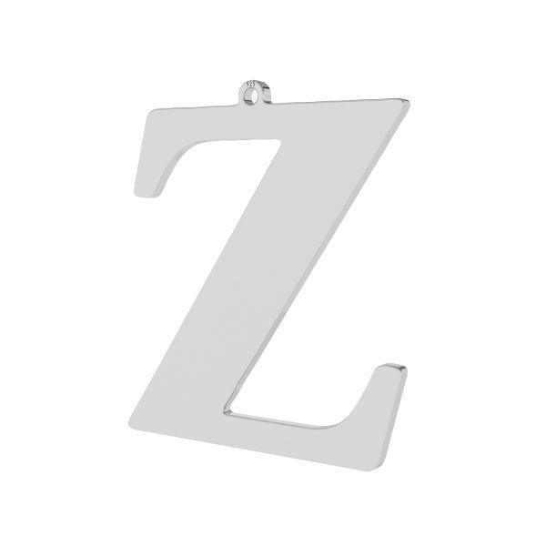 Zawieszka - duża literka Z - prosta czcionka*srebro AG 925*LKM-2513 - 0,60 34,7x38,20 mm