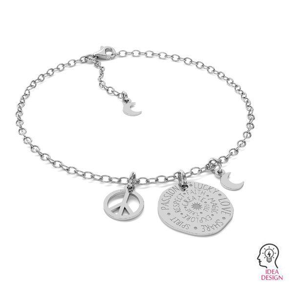 Zawieszka - talisman, moneta*srebro AG 925*LKM-2288 - 0,50 18x18 mm
