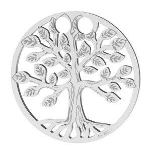 Drzewo życia zawieszka srebro 925, LKM-2028