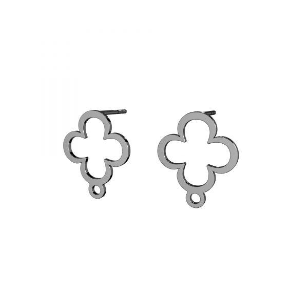 Kolczyk sztyft do podwieszania - koniczynka*srebro AG 925*LK-2572 KLS - 0,50 13x15,4 mm