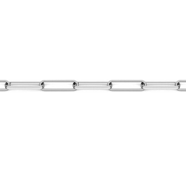 Łańcuszek metraż - typu anker*srebro AG 925*FIO 100 3,1x10,7 mm