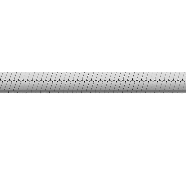 Łańcuszek metraż - linka płaszczona, taśma*srebro AG 925*MAG 050 4,5 mm