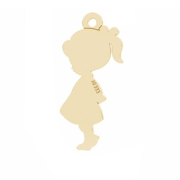 Złota zawieszka - dziewczynka*złoto AU 333*LKZ8K-30024 - 0,30 7x19 mm