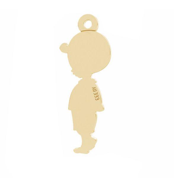 Złota zawieszka - chłopiec*złoto AU 333*LKZ8K-30025 - 0,30 7x19 mm