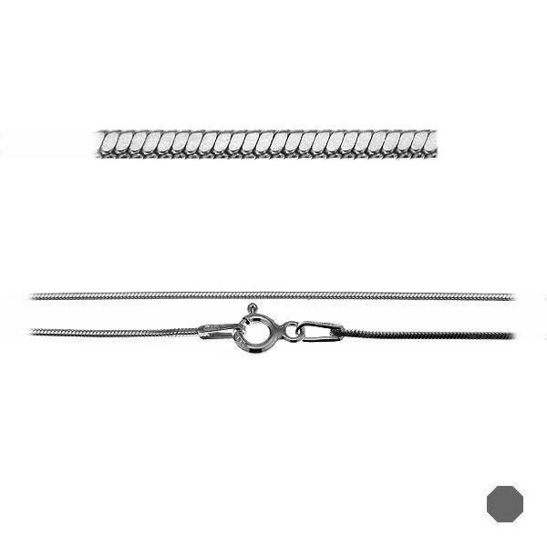 Łańcuszek typu Snake z zamkiem*srebro AG 925*SN 020 DC8L (40 cm)