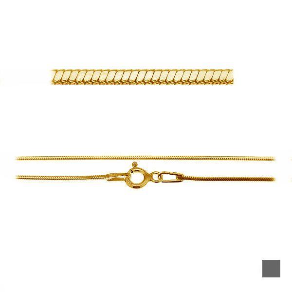 Łańcuszek typu Snake z zamkiem*srebro AG 925*SN 020 DC4L 40-60 cm