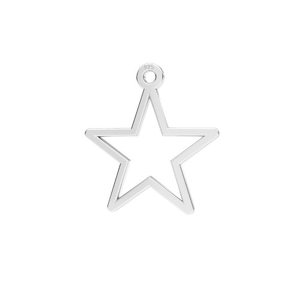 Zawieszka - gwiazdka*srebro AG 925*LKM-2632 - 0,50