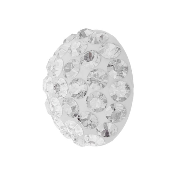 86601 MM6,0 01 001 - Cabochon Pave Crystal