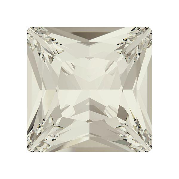 4447 MM 12,0 CRYSTAL SILVSHADE F, Princess Square Fancy Stone