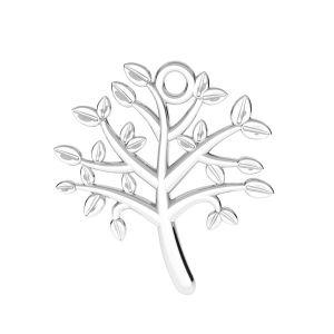Zawieszka łącznik ażurowy - drzewo życia*srebro AG 925*ODL-00764 21,5x21,5 mm