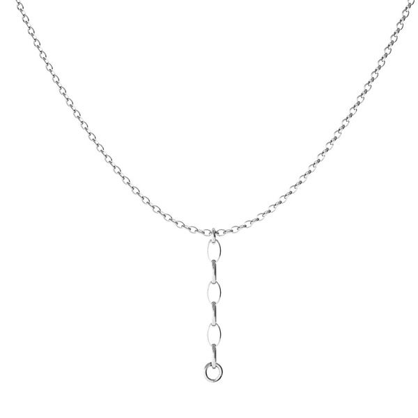 Baza łańcuszkowa do podwieszania*srebro AG 925*CHAIN 44 (ROLO OVAL 0,35X0,60)