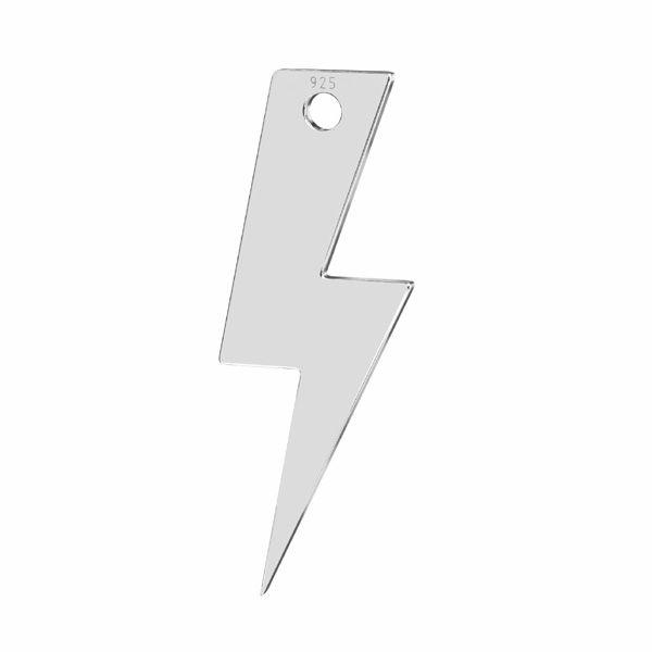 Zawieszka - piorun, błyskawica*srebro AG 925*LKM-2827 - 0,50 7,9x21