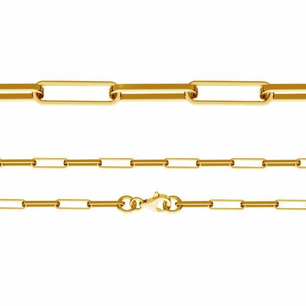 Łańcuszek typu Ankier z zamkiem*srebro AG 925*FIO 100 45 cm