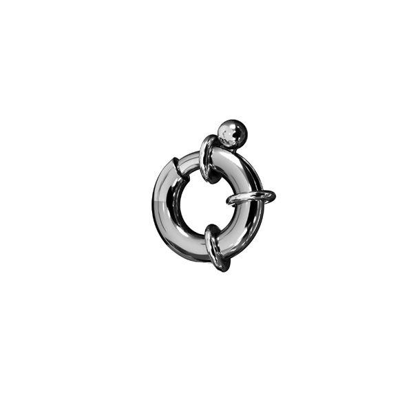 Zapięcie - typu federing*srebro AG 925*AM 3x6,5 mm