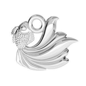 Zawieszka - ryba*srebro AG 925*ODL-00782 10,5x12 mm