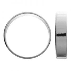 Gładka obrączka - szeroka szyna*srebro AG 925*OB 01882 5 mm